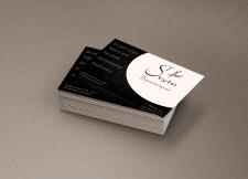 визитка для парикхмахерской