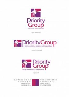 Логотип Приорити групп