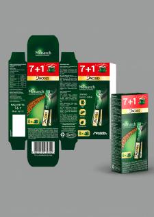 Дизайн упаковки стиков JACOBS