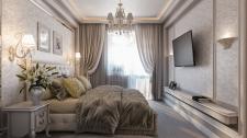 дизайн спальні в класиці
