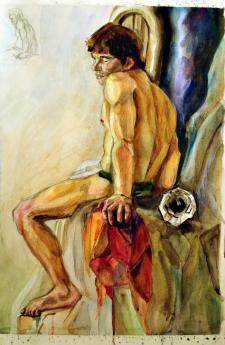 Акварельный рисунок