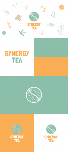 Logo for the tea company