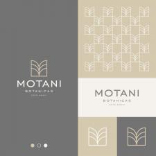 Botanic M Letter Logo