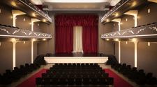 Дизайн и визуализация интерьера концертного зала