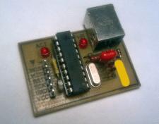 Программатор USBtiny для AVR