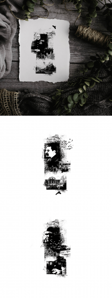 Коллажи-иллюстрации для книги Кокотюшко для КСД