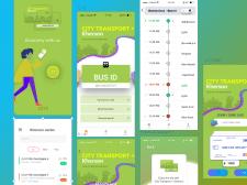 UI/UX design App - Public transport