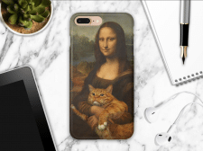 Мокап чехла Iphone 8 case mock-up
