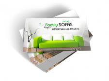 Визитка для мебельной фирмы