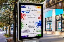 Плакат для фото фестиваля