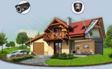 Cистемы видеонаблюдения для загородного дома
