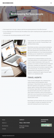 book keeping company for travel agents