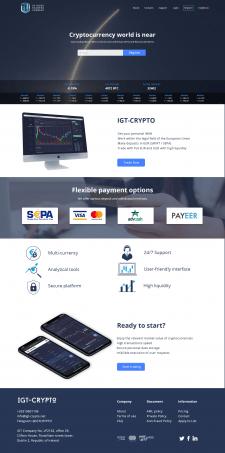 IGT Crypto | Биржа для торговли криптовалютой