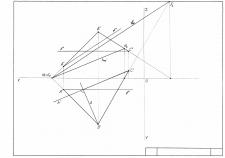 Горизонталь, фронталь, линия наибольшего ската
