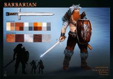 Концепт арт персонажа