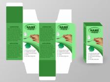 Разработка дизайна упаковки для сиропа