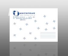 Новогодний конверт Интерпап