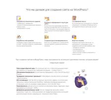 """Текст """"Разработка сайтов на WordPress"""""""