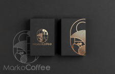 Coffe brand logo.