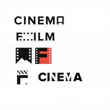 Несколько вариантов логотпа для кинокомпании