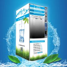 """Дизайн автомата воды """"РодничОК"""""""
