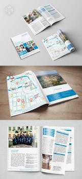 Верстка брошури для університету