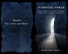 """обложка к книге """"Introvert Power"""""""