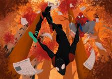 Spiderverse illustration