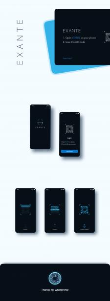 Дизайн мобильного приложения для биржи криптовалют