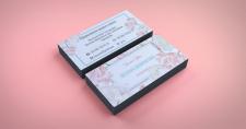 Дизайн визитки | Свадебный флорист