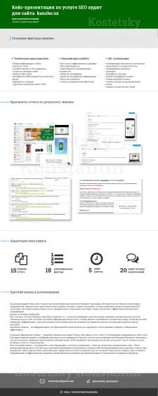 SEO анализ сайта из Узбекистана