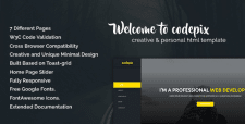Codepix - Creative & Personal HTML Template