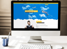 Personal Travel Agent Landing Page