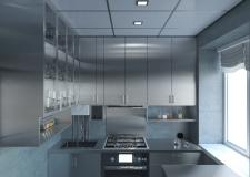 Кухня из нержавеющей стали