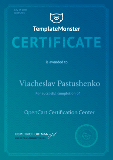 OpenCart Certification Center
