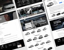 Сайт для аренды авто в Украине