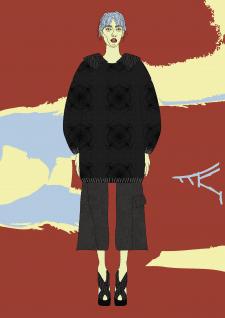 Эскиз одежды