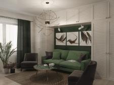Дизайн интерьера, гостиная
