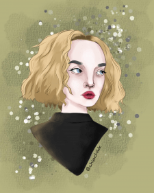 Портрет в стиле «Арт» №2