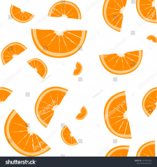 orange slice pattern
