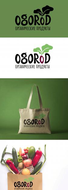 Логотип для магазина органических продукт