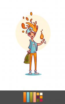 Персонаж для анимации