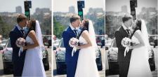 Ретушь свадебных фото.До и после 1