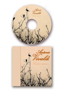 """Оформление диска """"Антонио Вивальди"""""""