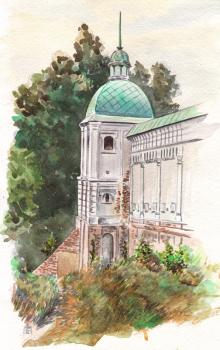 Монастырская башня