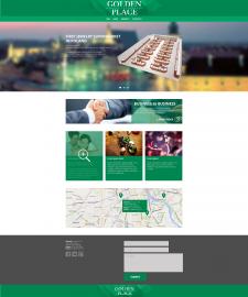 Дизайн сайта Golden Place (Польша)