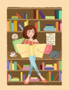 Читающая кроха
