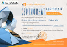 Сертификат по 3Dmax / Corona