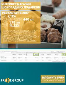 Интернет- магазин шоколадных подарков