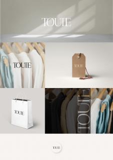 Логотип для бренда одежды Toute